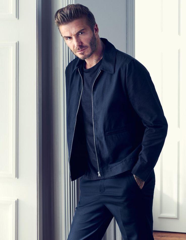 David Beckham Égérie de la nouvelle campagne Modern Essentials de H&M Printemps 2016 - ESSENTIAL HOMME