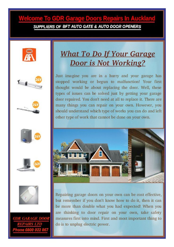 There are many advantages of hiring professional garage door repairs Auckland as just looking at it, at the same moment they will come to know what is the actual issue and will repair it efficiently.