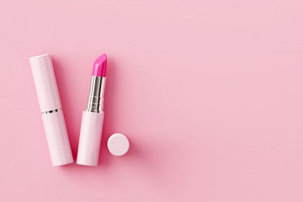 Lipstick On Pastel Pink Background Beauty Concept Em 2020 Padrao De Arte Fundos Cor De Rosa Consultoras Mary Kay