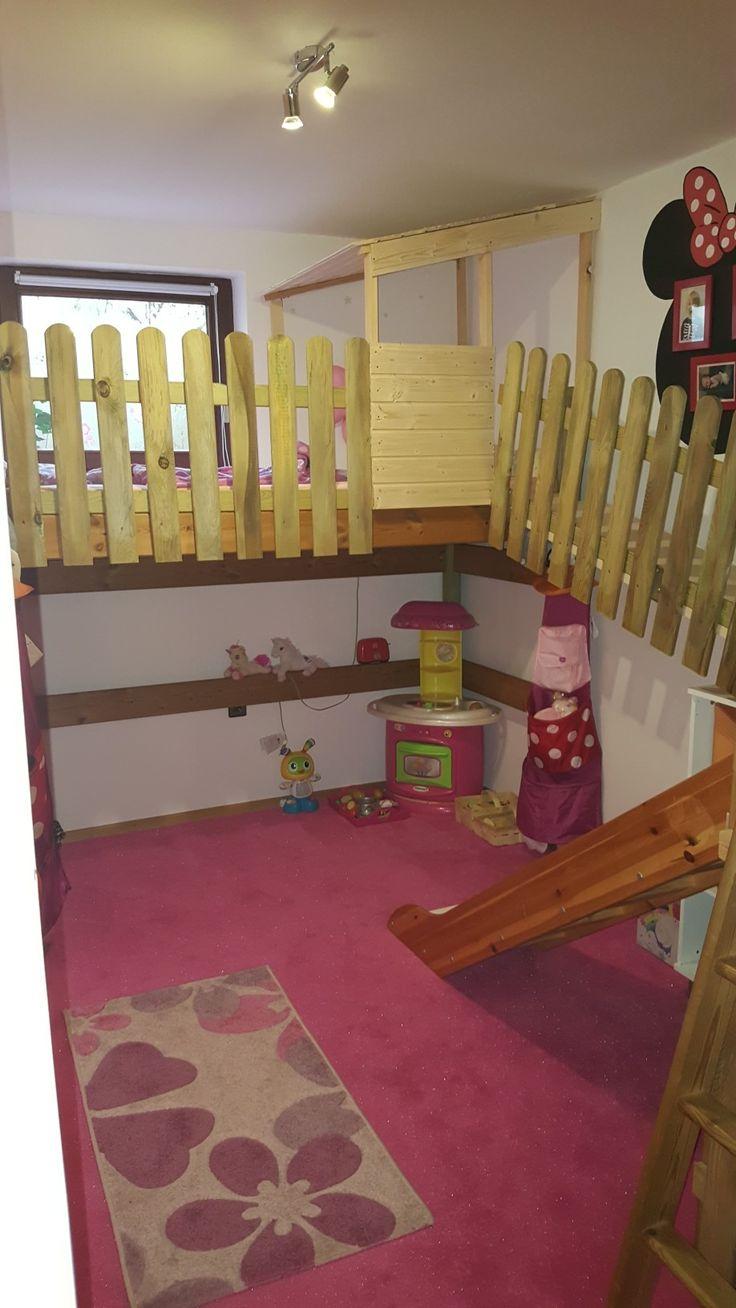 Cool Ein Baumhaus f r das Kinderzimmer uRutsche uH hle uKlettern uBaumhaus uSchlafen