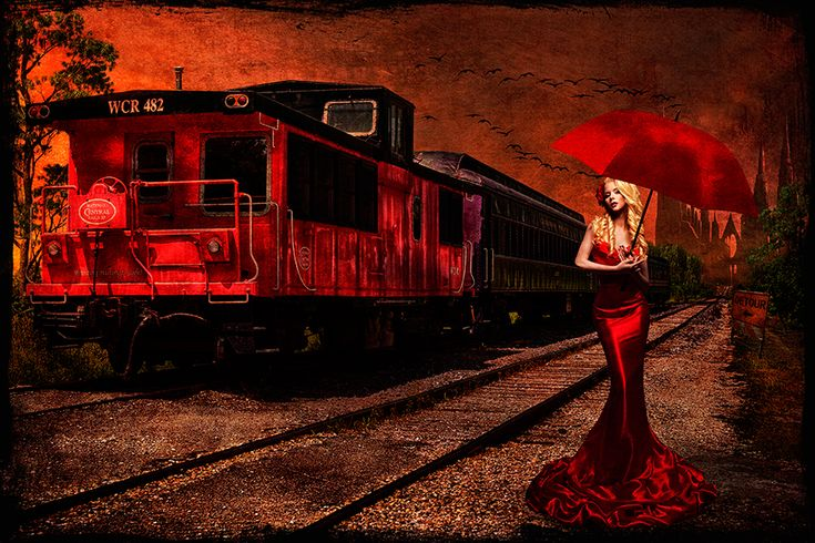 Red Train on Behance