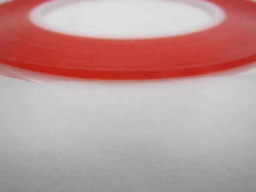 Double-Side Red Film transparent VHB Adhesive Tape Film Case Cover For LCD iPhone Phone  2mm_25m_VHBTape