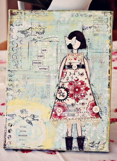 .Journals Covers, Multi Media Collage, Painting Art, Art Journals, Canvas Art, Fashion Collage, Mixed Media Canvas, Crafty Creative, Mixed Media Artworks