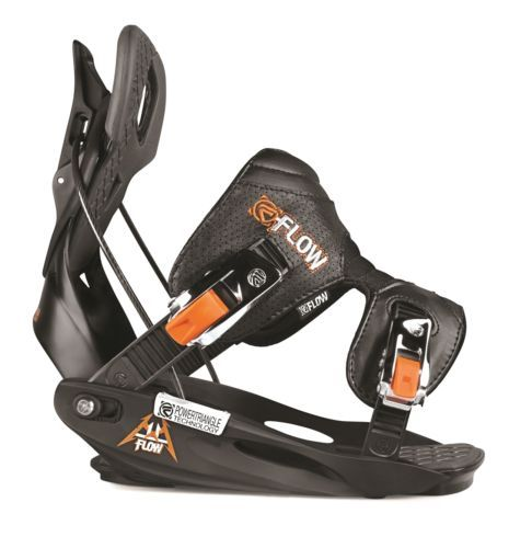 New Flow M11 Mens Medium All Mountain Freeride Snowboard Bindings 2013 Msrp$260