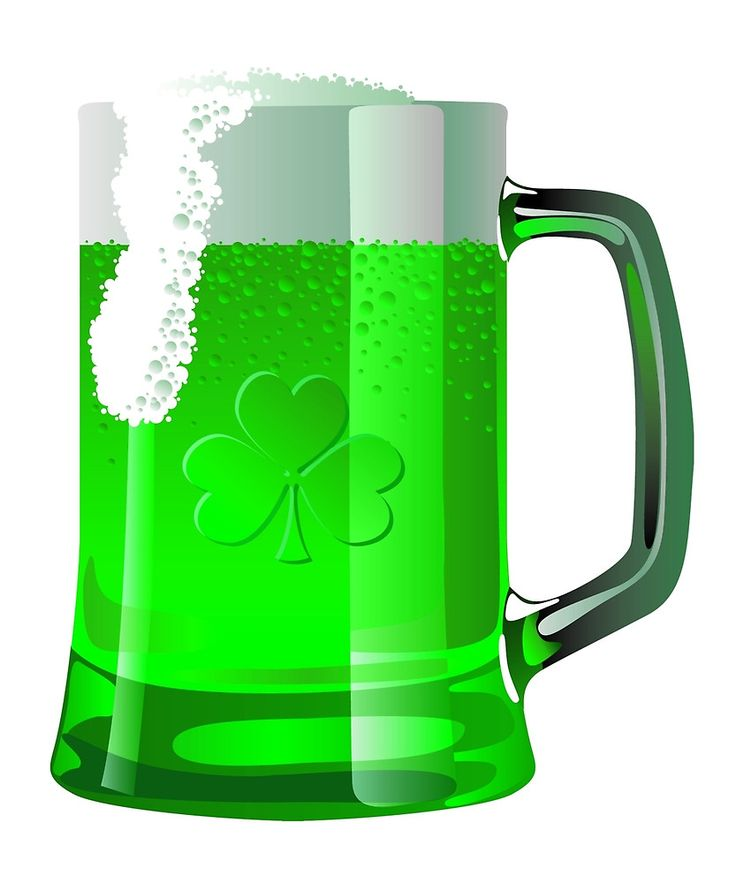 Green Beer for St Patricks Day by Halaqqoh