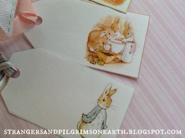 Peter Rabbit's Gift Tags ~ Free Printable