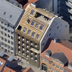 Il progetto vincitore del concorso Copper in Architecture 2015: la nuova sede di Trollbeads, a Copenaghen, Danimarca  (Progetto:BBP Arkitekter). #CopperAwards2015