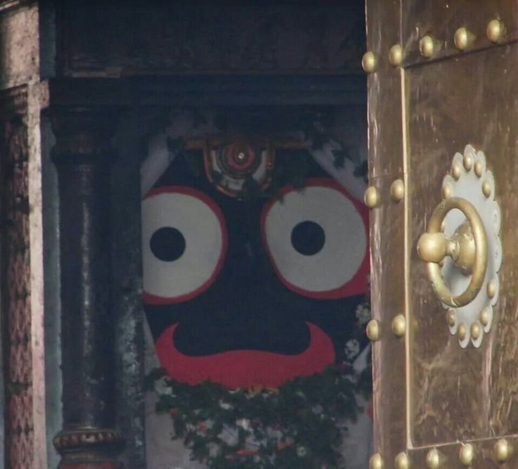While entering the famous Jagannath temple u can have darshan of 'Patitopawan'