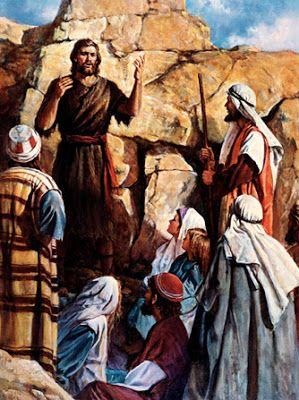 JESUS CRISTO A LUZ DO MUNDO:   O ANÚNCIO DA VINDA DO SALVADOR. Eis que Eu envio...