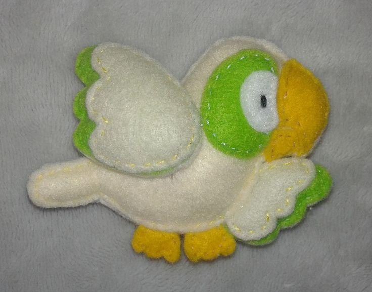 Papuga filc