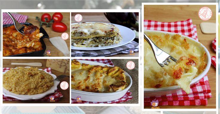 i primi piatti delle feste : lasagne, condimenti, pasta, risotti, gnocchi e pasta fresca, crespelle, polenta, minestre e zuppe. Scegliete il vostro!