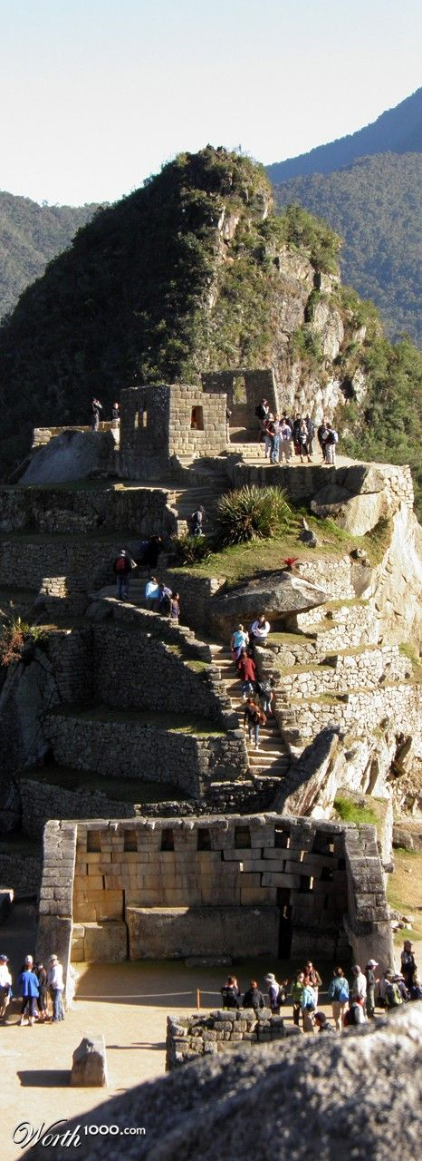 Machu Picchu, Peru---on Ron's bucket list!  Only 3 more places he wants to go!!!