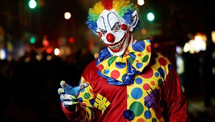 The History and Psychology of Clowns Being Scary
