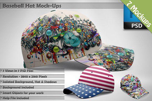 Download Baseball Hat Mockups 7 Psd Mockups Mockup Free Psd Mockup Psd Mockup