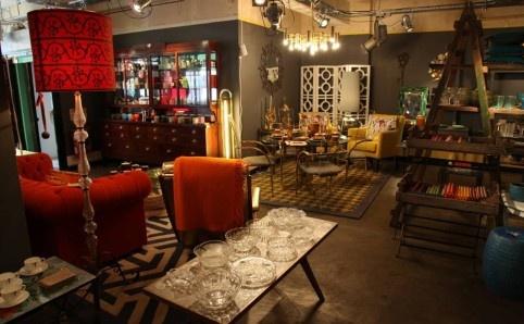 Pitfield London, N1. Interiors shop.
