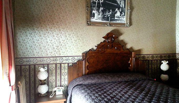 The Buffalo Bill Room at The Irma Hotel in Cody, WY