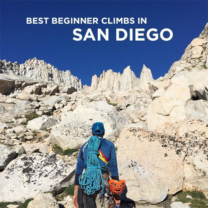 Best Beginner Outdoor Rock Climbing in San Diego County California // localadventurer.com