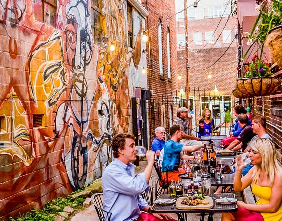 See the best places to dine and drink in pretty Winston-Salem.
