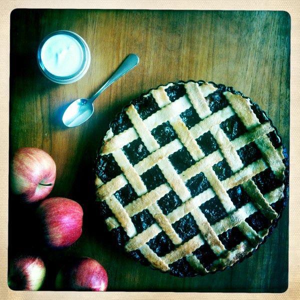 Anglický jablkový koláč