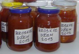 broskvový džem | recept