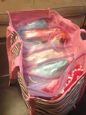 Happy Organized Life: Traveling with Kids-Packing Tips  This is also great for summer camp. Older children can stay organized and return home with all their clothes.