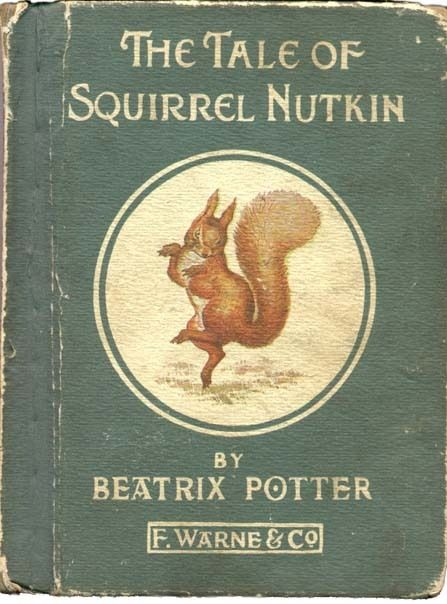 I remember reading this in elementary school....and the book didn't look so old then!  Beatrix Potter
