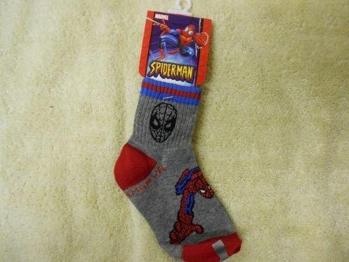 Boys Marvel Spiderman Socks 6 - 8 1/2  Package of 24  #Marvel