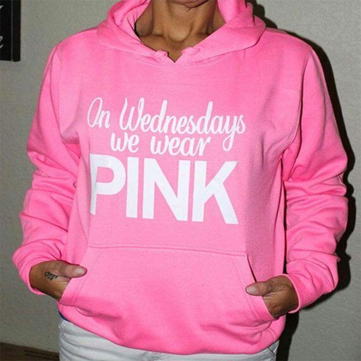 Love Pink Women'S Hoodies Long Sleeve Warm Fleece Bottom Pullover Vs Pink Women Sweatshirt Outwear Tracksuit Casual Tops Z30 //Price: $21.95 & FREE Shipping //     #hashtag3