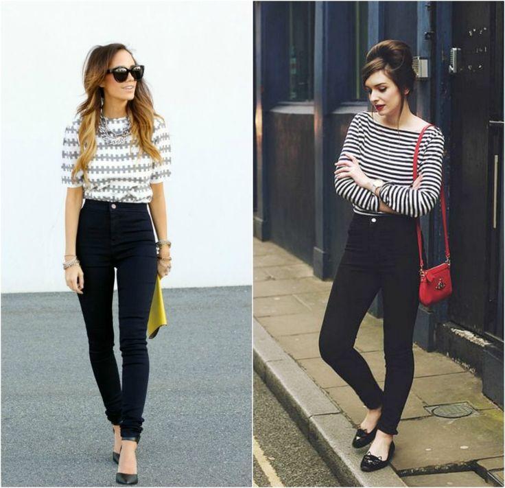 como usar calça jeans cintura alta 1