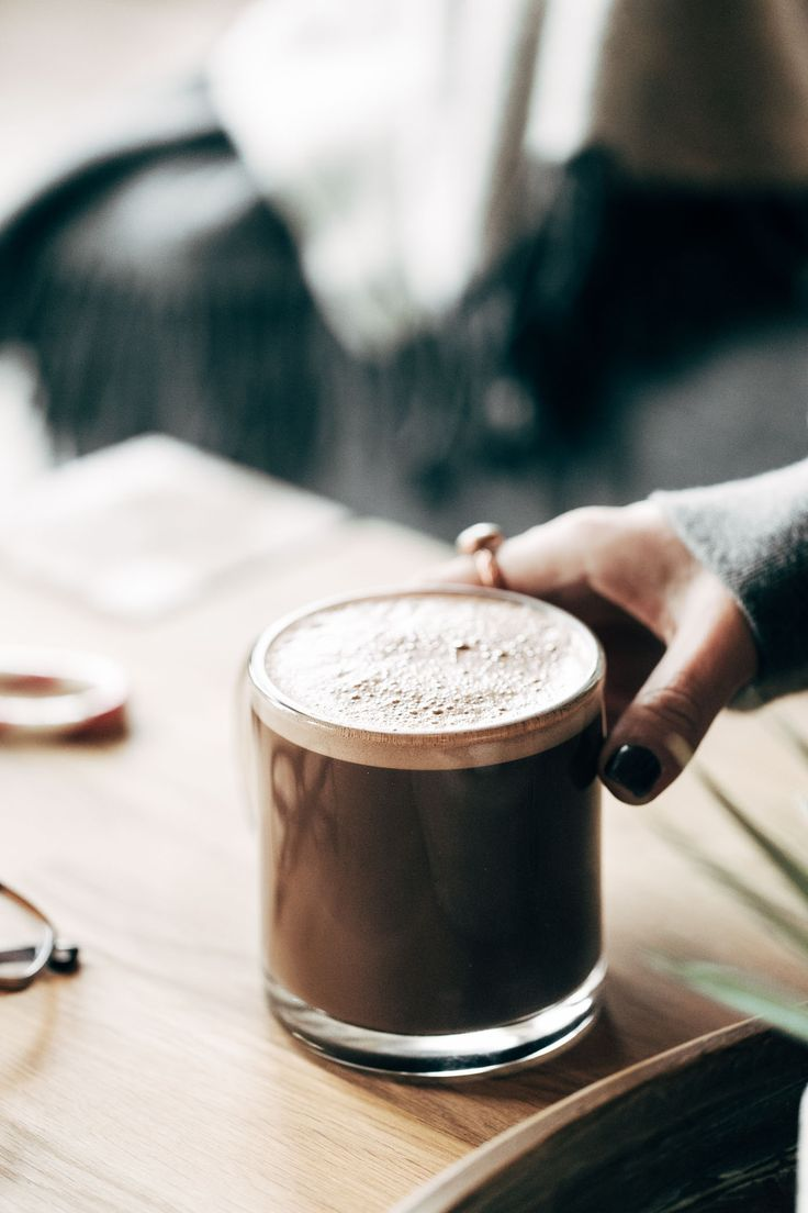 Power Peppermint Mocha! the unicorn of all holiday drinks. with 22 grams of collagen protein, which is good for joints and muscles, but also skin, nails, and hair. SO yummy! | pinchofyum.com