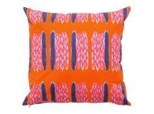 Elixir Cushion 45 x 45cm, Orange and Pink