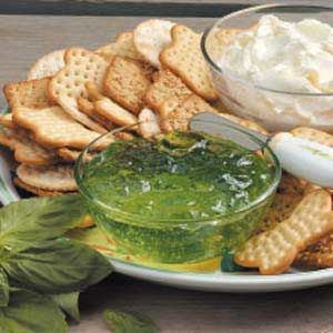 Basil Jelly Recipe - Yea!  Something to do with all my basil!  Wonder if it would work with thyme, oregano or parsley...