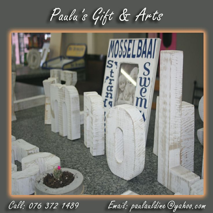 Personalizing a child's world has never been this easy. Wooden letters is a traditional decor item. Personalize buy painting them or scrapping them to fit your children's bedroom theme. #Letters #personalize #decor