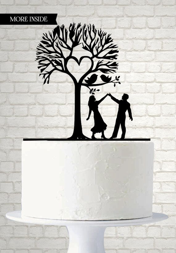 Love Cake Topper  Wedding Cake Topper  Mr and Mrs by SuntopDesigns