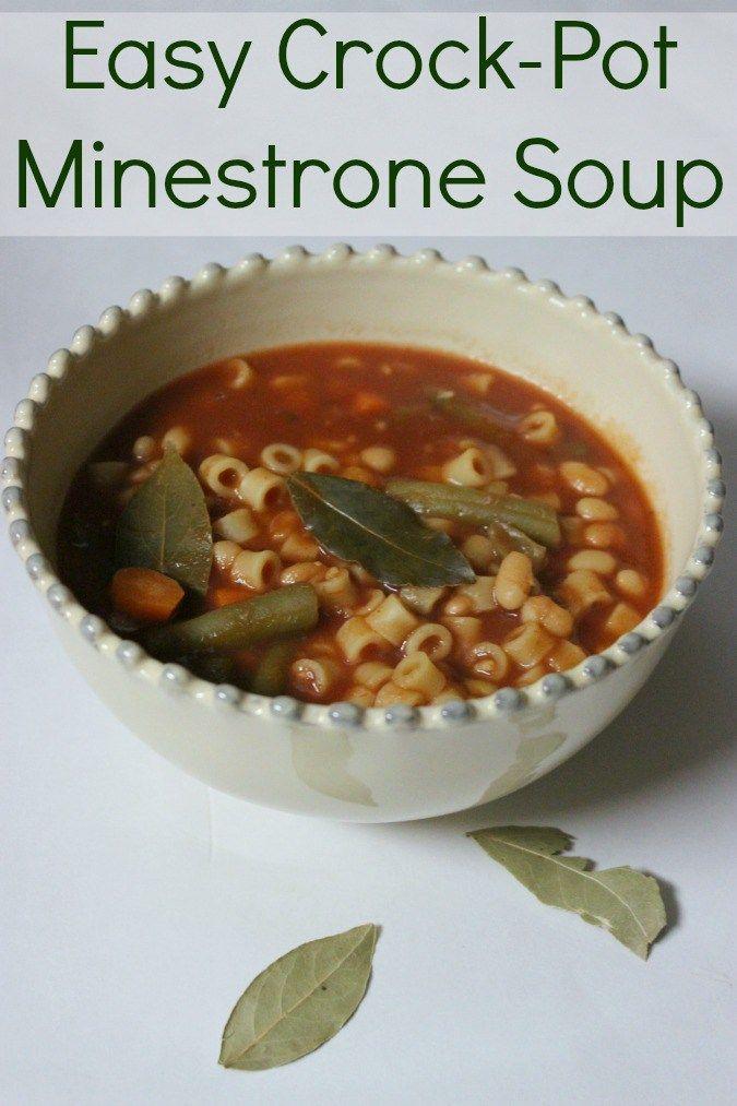 17 Best ideas about Crockpot Minestrone on Pinterest ...