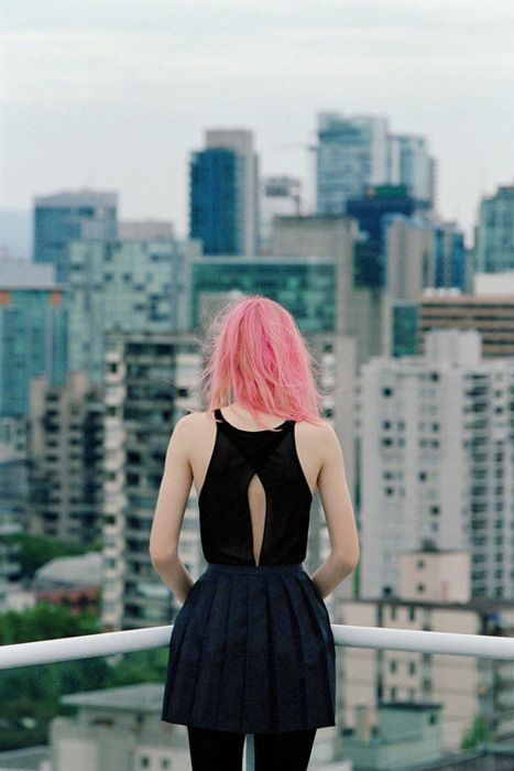 I'd love to do a rooftop photoshoot.
