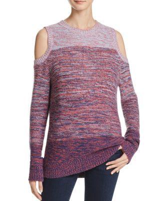 REBECCA MINKOFF Page Cold Shoulder Sweater. #rebeccaminkoff #cloth #sweater