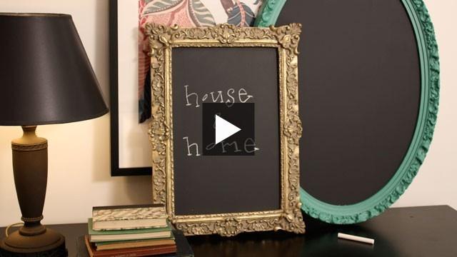 #BeautiTone Make A #Chalkboard #Mirror | House & Home