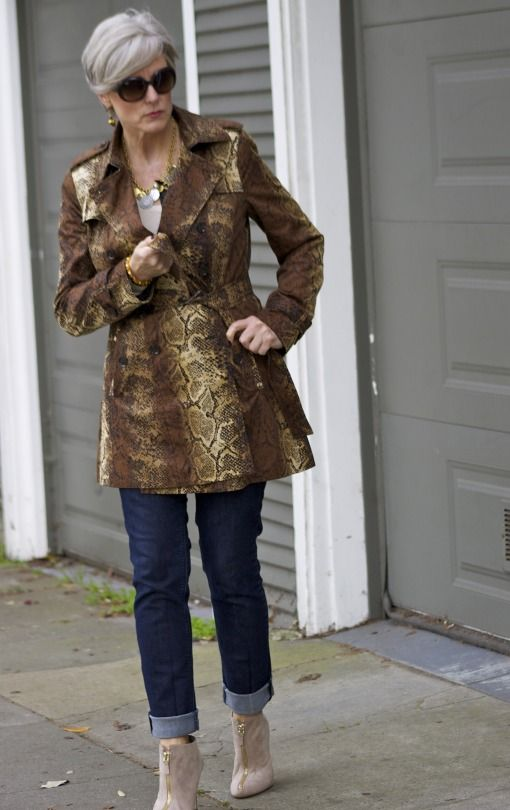 snakeskin | style at a certain age #overfiftyblogger