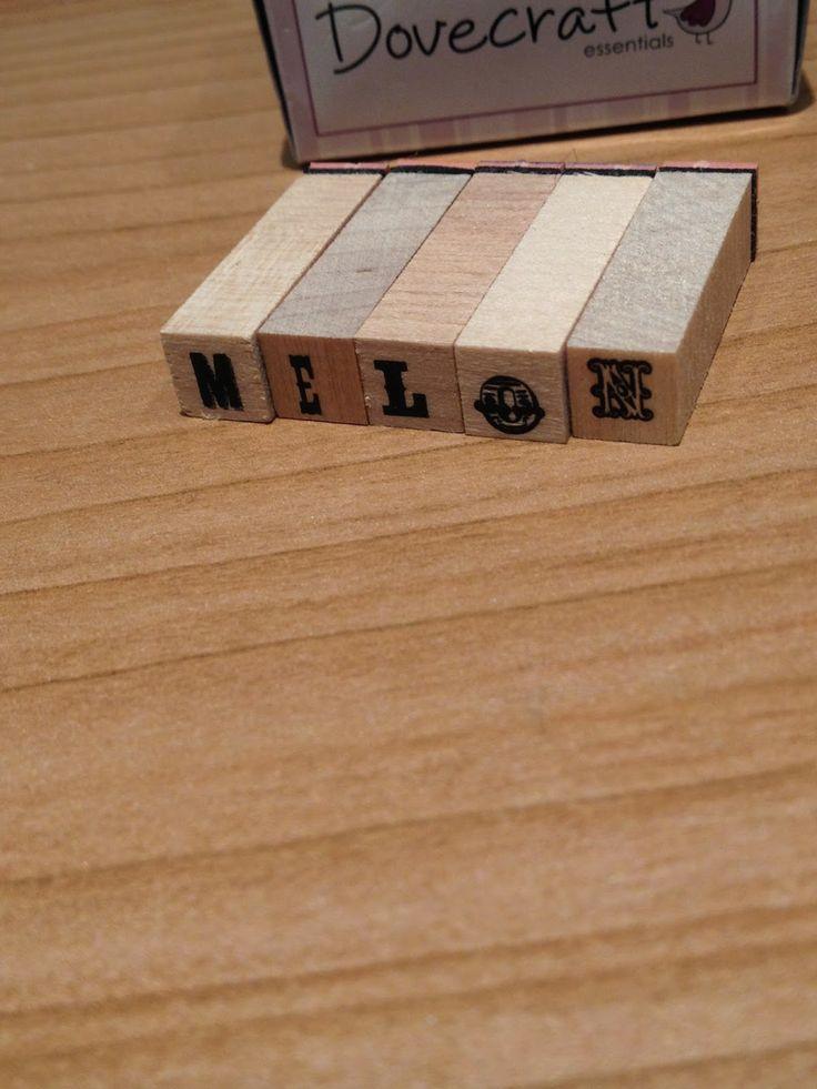 #DIY Las letras para estampar. #Lamañanamágica8 #FashionFridays11  http://cuchurutu.blogspot.com.es/2014/06/diy-etiquetas-para-marcar-plantas.html