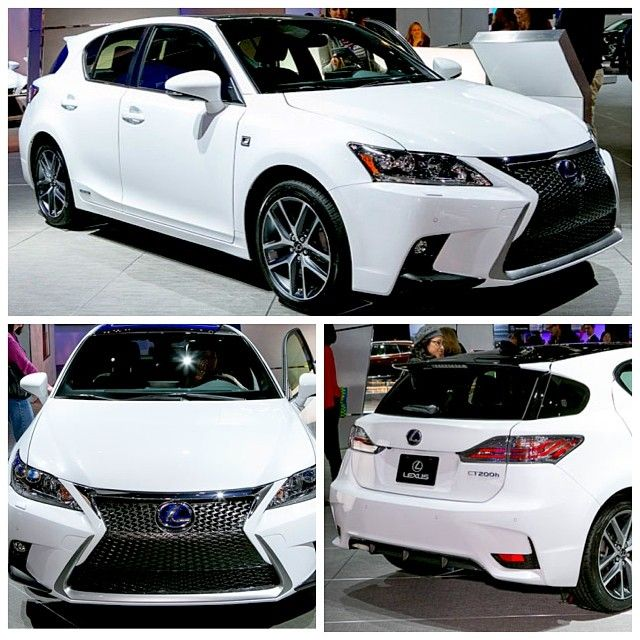 Sit behind the wheel of the 2014 #Lexus CT200h #FSport for the first time at the #LAAutoShow!