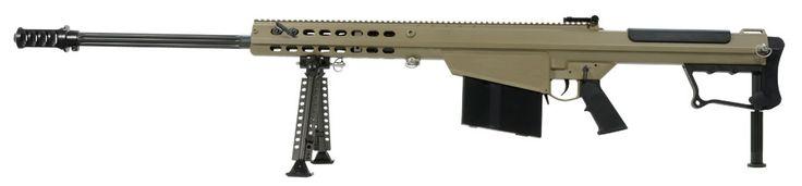 Barrett M107A1 50 BMG Tan Rifle 14559