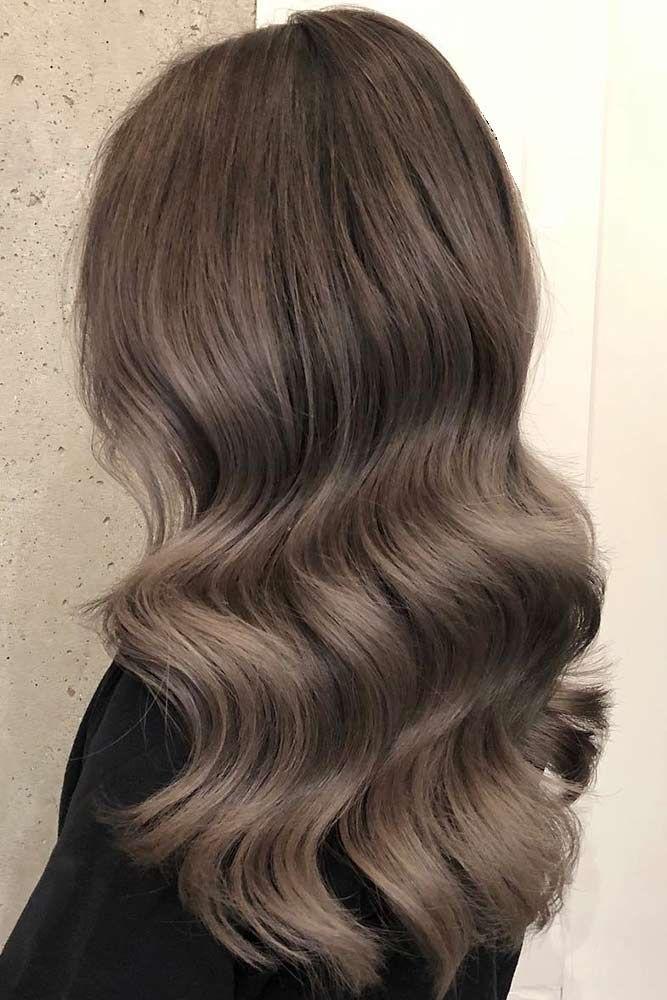 aske brunt hår