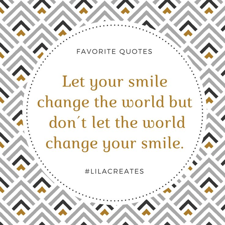 Lass dein Lächeln die Welt verändern und nicht die Welt dein Lächeln verändern...  Fake-smiles sind hässlich.