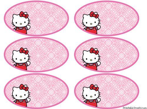 Printable Hello Kitty Tags