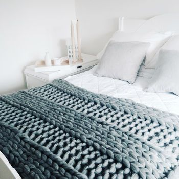 Diy Knit Kit Chunky Blanket 40' x 60'