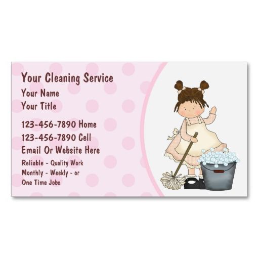 17 Best images about Cleaning Business Cards on Pinterest ...