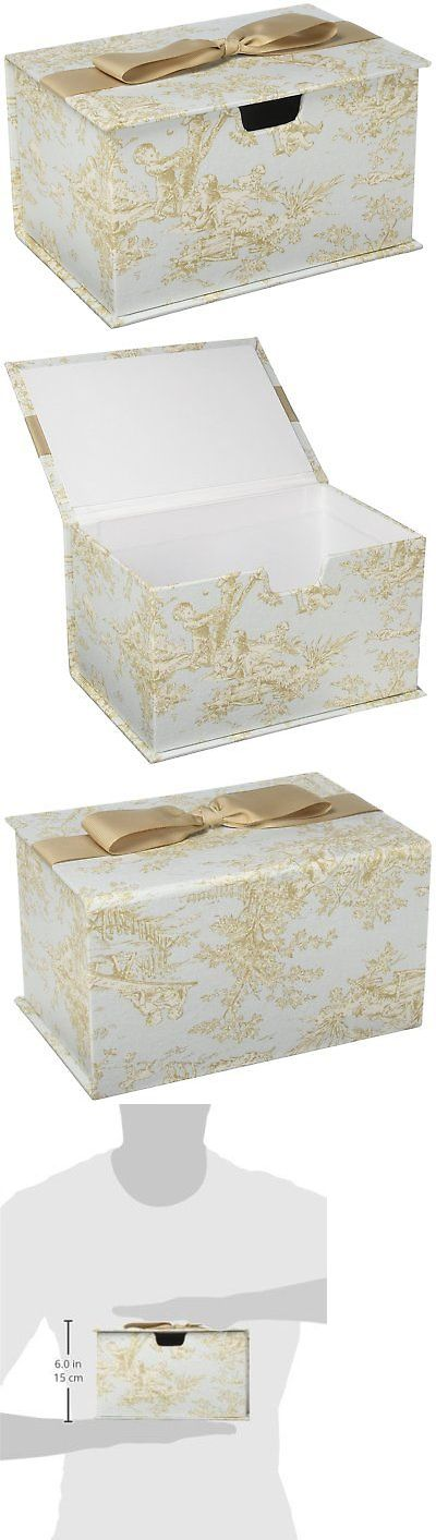 Picture Frames 33235: Glenna Jean Central Park Wipes Box, Blue Chocolate Tan White, 9 X 6 X 5 -> BUY IT NOW ONLY: $56.77 on eBay!