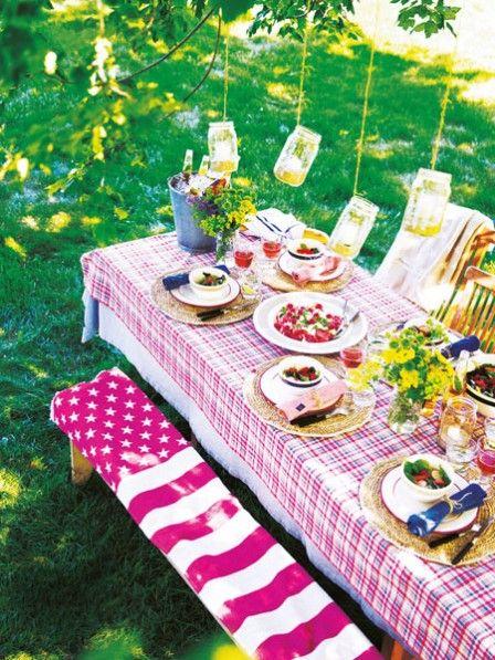 Grillparty accessoires und deko zum drau en fest deko for Sommerdeko draussen