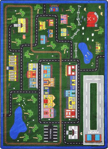 This design incorporates all aspects of everyday life. Agricultural, suburban, and city areas.